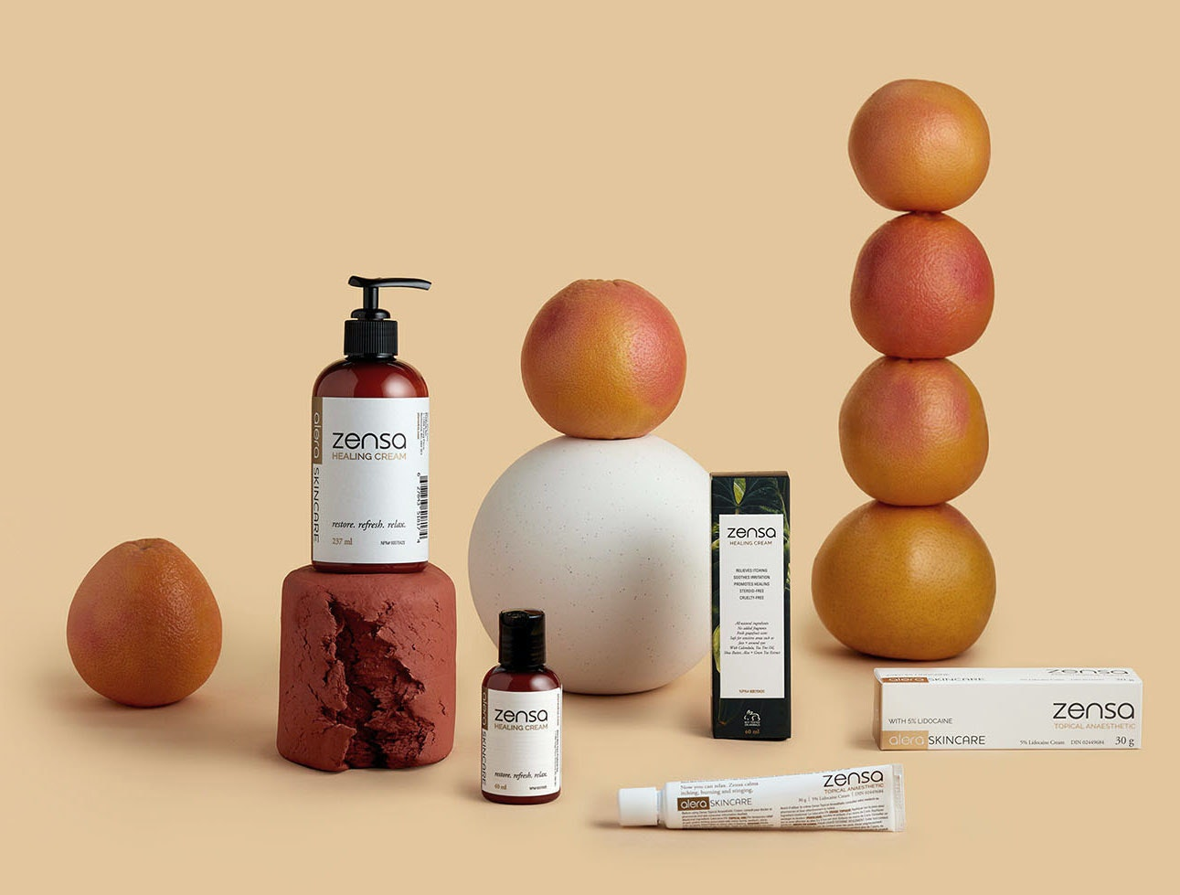All products by Zensa Skin Care - Numbing Cream, Healing Cream, and other skincare products for tattoos, waxing, lasers, injections, and overall health.